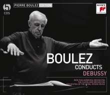 Pierre Boulez Edition (Sony): Claude Debussy, 5 CDs