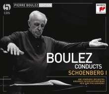 Pierre Boulez Edition (Sony):Arnold Schönberg I, 5 CDs