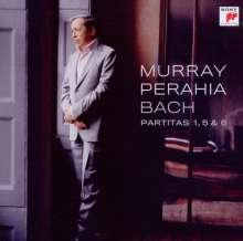Johann Sebastian Bach (1685-1750): Partiten BWV 825,829,830, CD