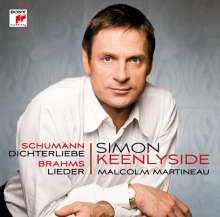Simon Keenlyside - Schumann/Brahms, CD