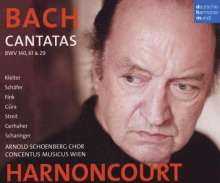 Johann Sebastian Bach (1685-1750): Kantaten BWV 29,61,140, 2 CDs