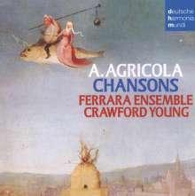 Alexander Agricola (1446-1506): Chansons, CD