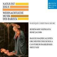 Weihnachtliche Musik des Barock - Natus est Jesus, CD