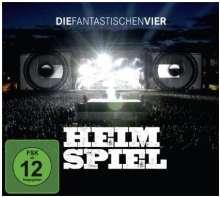 Die Fantastischen Vier: Heimspiel: Live 2009 (Premium Edition 3CD + 2DVD), 3 CDs und 2 DVDs