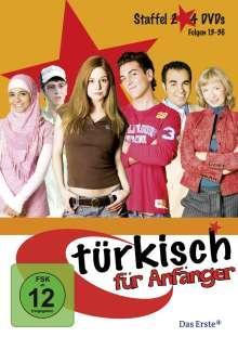 Türkisch für Anfänger Staffel 2, 4 DVDs