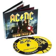 AC/DC: Filmmusik: Iron Man 2 (Deluxe Edition CD + DVD) (Digibook), 1 CD und 1 DVD