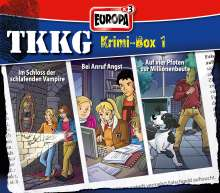 TKKG Krimi-Box 01, 3 CDs