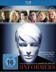 The Informers (Blu-ray), Blu-ray Disc