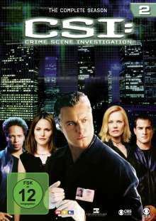 CSI Las Vegas Season 2, 6 DVDs