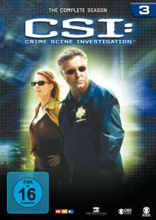 CSI Las Vegas Season 3, 6 DVDs