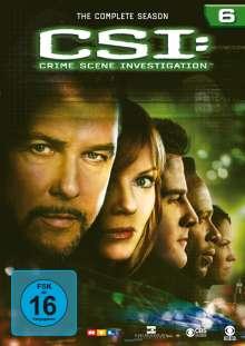 CSI Las Vegas Season 6, 6 DVDs