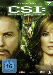 CSI Las Vegas Season 7, 6 DVDs