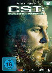 CSI Las Vegas Season 8, 6 DVDs