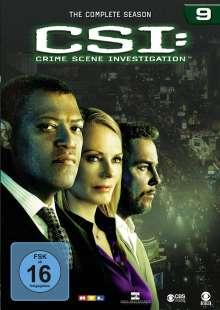 CSI Las Vegas Season 9, 6 DVDs
