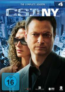 CSI New York Season 4, 6 DVDs