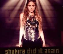 Shakira: Did It Again, Maxi-CD