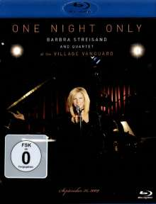 Barbra Streisand: One Night Only:Live At Village Vanguard, 26.9.2009, Blu-ray Disc