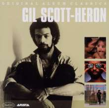 Gil Scott-Heron (1949-2011): Original Album Classics, 3 CDs