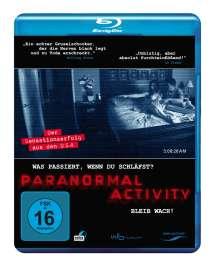 Paranormal Activity (Blu-ray), Blu-ray Disc