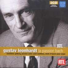 Gustav Leonhardt - La Passion Bach, 3 CDs
