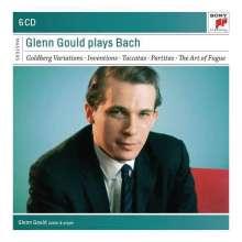 Johann Sebastian Bach (1685-1750): Glenn Gould spielt Bach I (Sony Classical Masters), 6 CDs