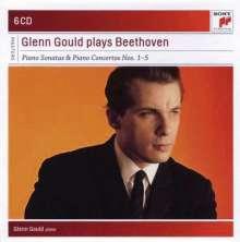 Ludwig van Beethoven (1770-1827): Klavierkonzerte Nr.1-5, 6 CDs