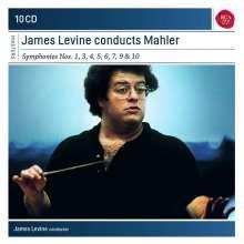 Gustav Mahler (1860-1911): Symphonien Nr.1,3-7,9,10, 10 CDs