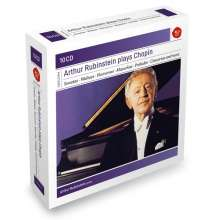 Frederic Chopin (1810-1849): Arthur Rubinstein plays Chopin, 10 CDs