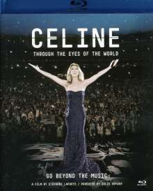 Céline Dion: Through The Eyes Of The World, Blu-ray Disc