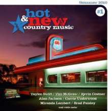 Hot & New Country Music No.1/Summer 2010, CD