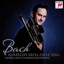 Gabor Boldoczki - Bach, CD