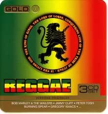 Gold Reggae (Metallbox), 3 CDs