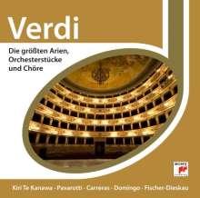 Verdi - Die größten Arien,Orchesterstücke & Chöre, CD