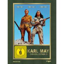 Karl May Collection Box 3: Winnetou I-III, 3 DVDs