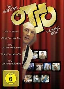 Otto: Die große Otto-Box (mit den 5 Spielfilmen), 5 DVDs