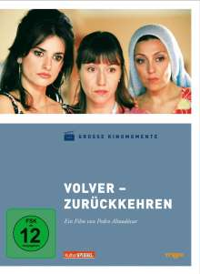 Volver (Große Kinomomente), DVD