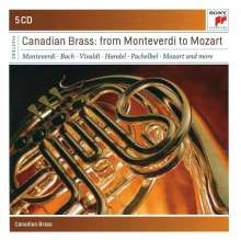 Canadian Brass - From Monteverdi to Mozart, 5 CDs