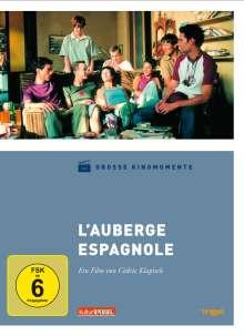 L'Auberge Espagnole - Barcelona für ein Jahr (Große Kinom.), DVD