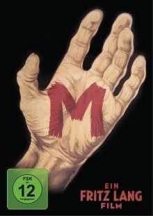 M - Eine Stadt sucht einen Mörder (Restaurierte Fassung), 2 DVDs