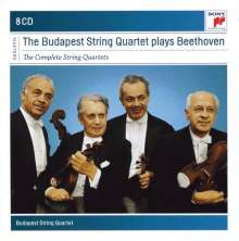 Ludwig van Beethoven (1770-1827): Streichquartette Nr.1-16, 8 CDs