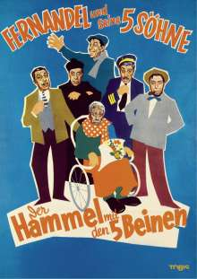 Der Hammel mit den fünf Beinen, DVD