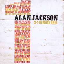 Alan Jackson: 34 Number Ones, 2 CDs
