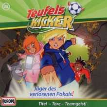 Die Teufelskicker (Folge 28) - Jager des verlorenen Pokals, CD