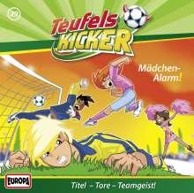 Die Teufelskicker (Folge 29) - Mädchen-Alarm!, CD