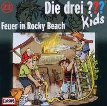 Die drei ??? Kids 23: Feuer in Rocky Beach, CD