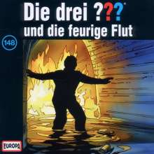 Die drei ??? (Folge 148) und die feurige Flut, CD