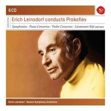 Serge Prokofieff (1891-1953): Erich Leinsdorf dirigiert Prokofieff, 6 CDs