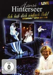 Hansi Hinterseer: Ich hab dich einfach lieb (Live), DVD