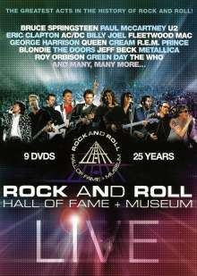 Rock And Roll: Hall Of Fame + Museum (Live), 9 DVDs