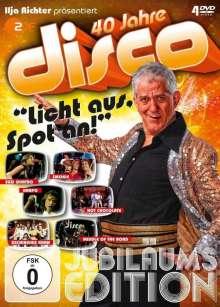 Ilja Richter präsentiert 40 Jahre Disco: Jubiläumsedition, 4 DVDs